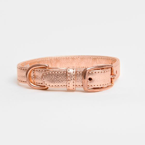 The Finley Collar in Rose Gold