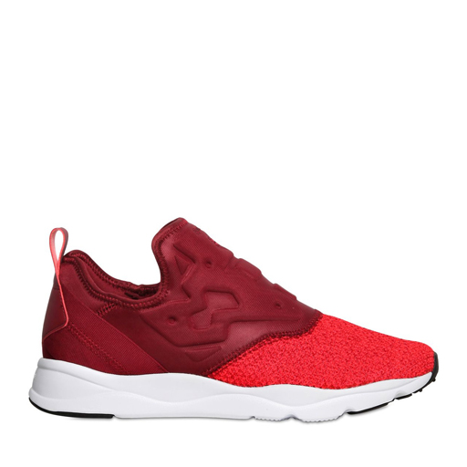 REEBOK - FURYLITE SLIP-ON KNIT (BURGUNDY)