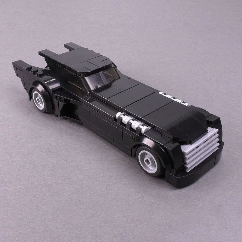 The Animated Series Batmobile - Minifig Scale (1992-1995)