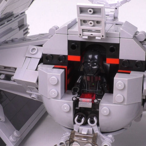 The Perfect Lego TIE Advanced - Minifig Scale