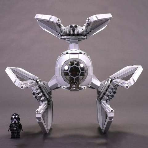 The Perfect LEGO TIE Defender - Minifig Scale