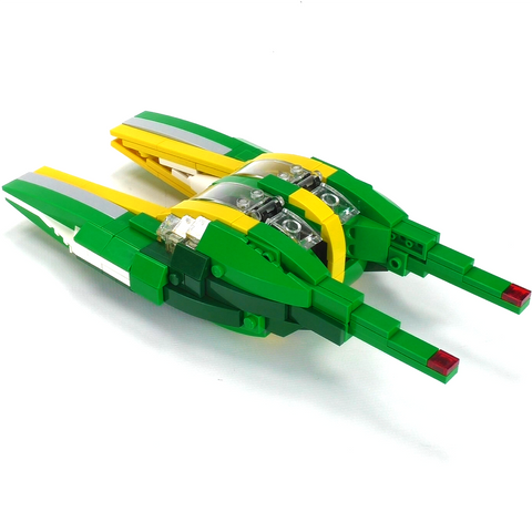 Bounty Hunter Chase Speeders - Minifig Scale