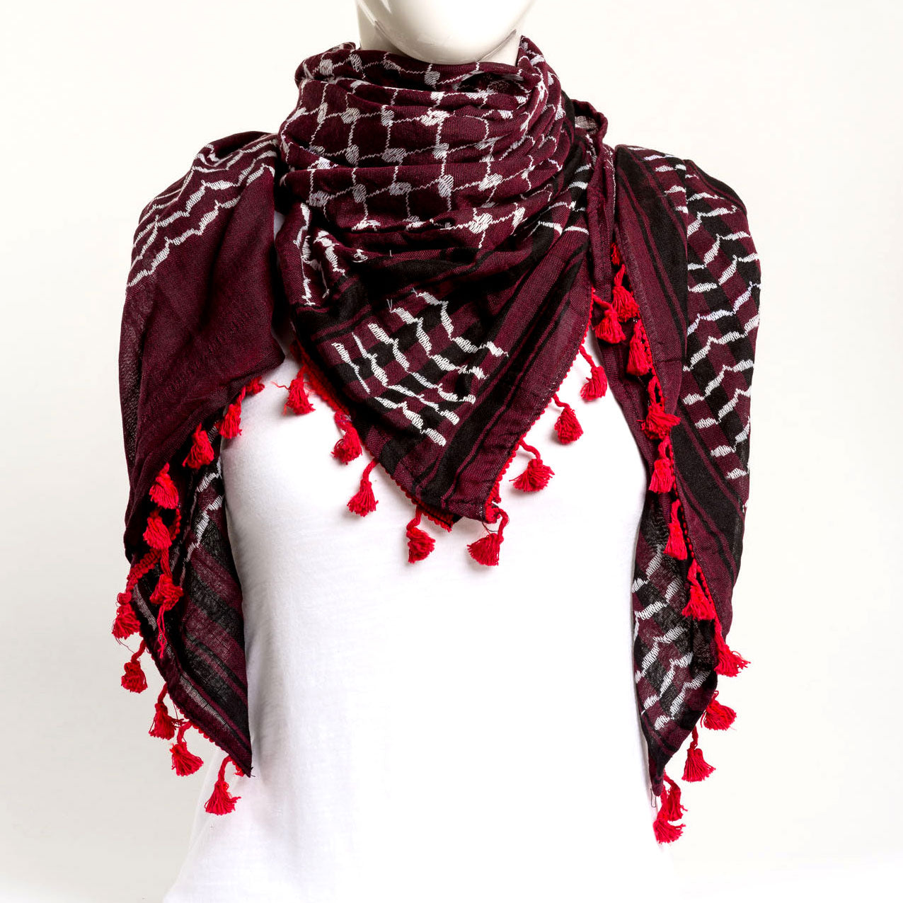 Authentic Hand Loomed Shawl (Morado)