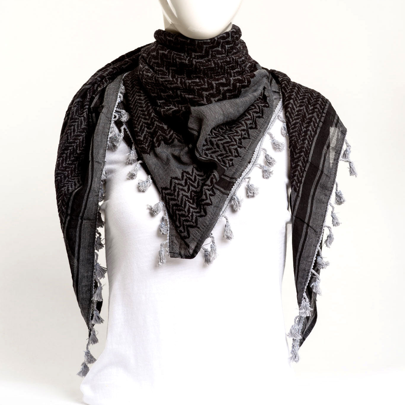 Authentic Hand Loomed Shawl (Ash)