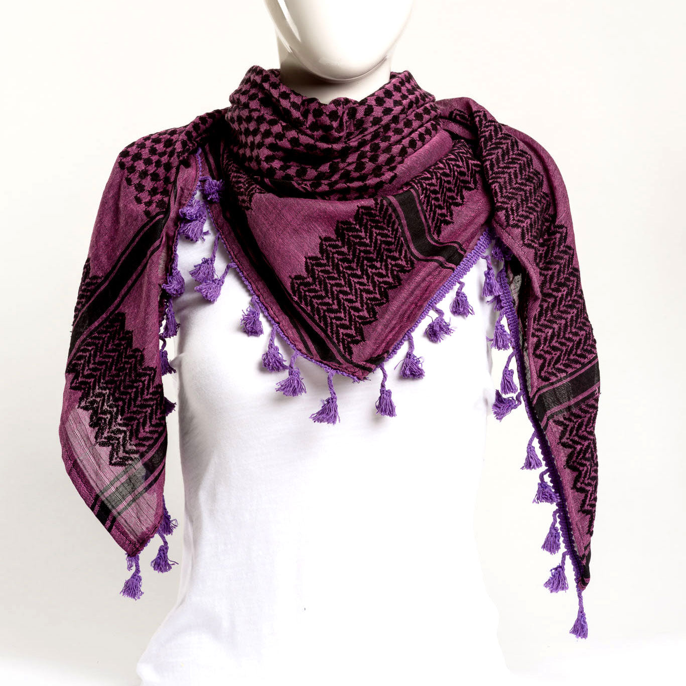 Authentic Hand Loomed Shawl (Indigo)