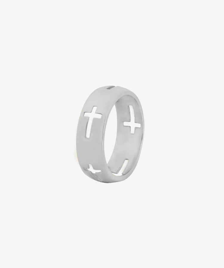 CROSS CUT RING