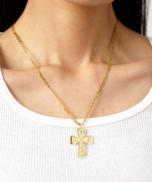 SISTINE CROSS NECKLACE