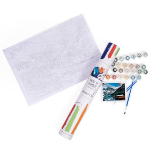 Creative and relaxing gift kit for adults