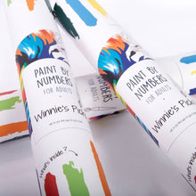 Paint by numbers tube
