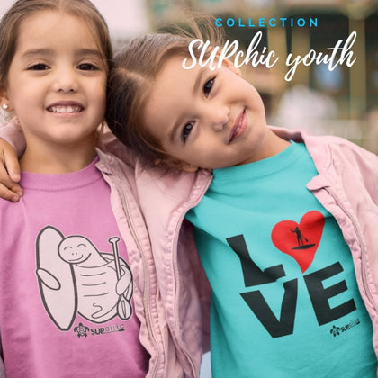 youth collection of stand up paddle board clothing and jewelry by SUPchic
