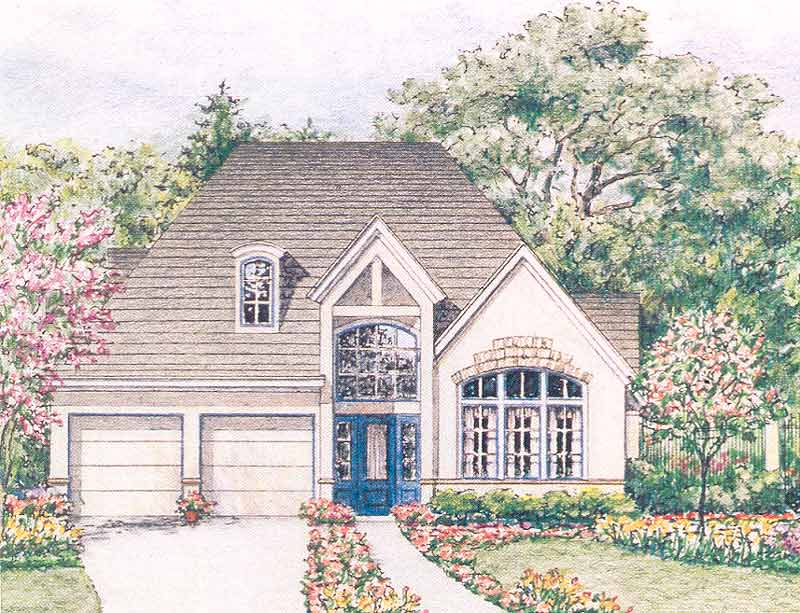 One Story Home Plan C5356