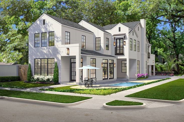 Two Story Home Plan E9029
