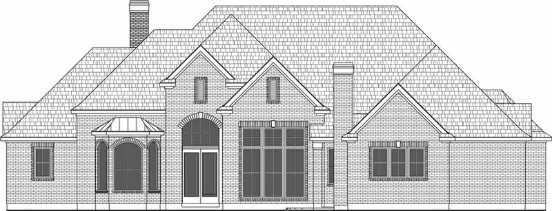 One Story House Plan D9086