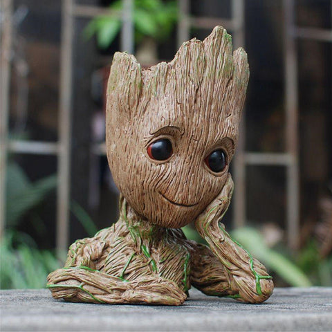 Baby Groot Planter Flower Pot / Pen Stand 3D Model | Guardians of The Galaxy - RespawnWear