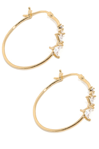 Kendra hoops gold