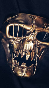 Barbed Wire Skull