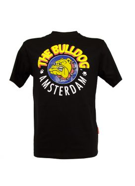 Τ-Shirt The Bulldog Men Black Small