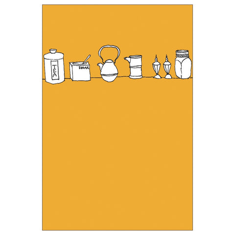 Kitchen Things Note Card