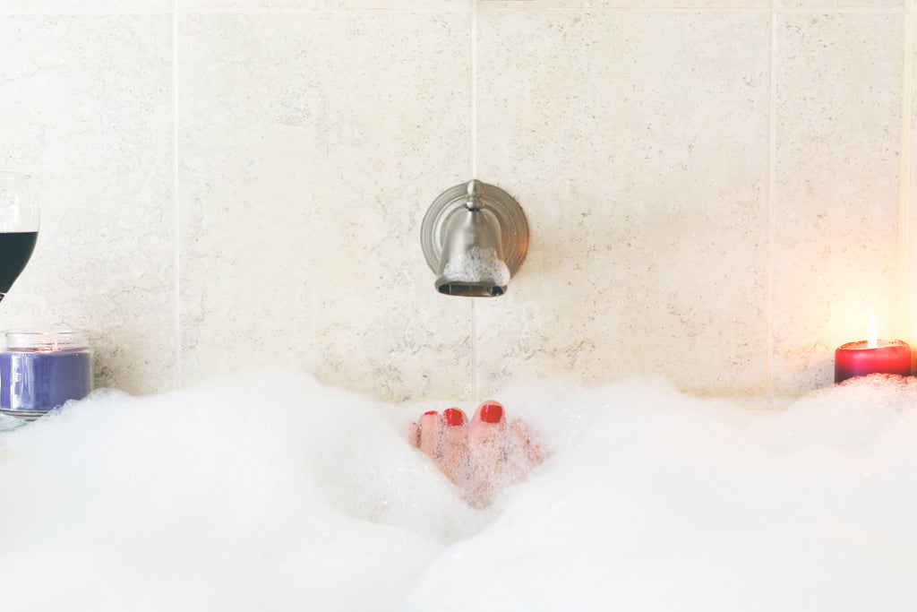Why taking a bath can improve your mental health