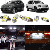 2014-2018 Jeep Compass LED interior light kit 5050 Series