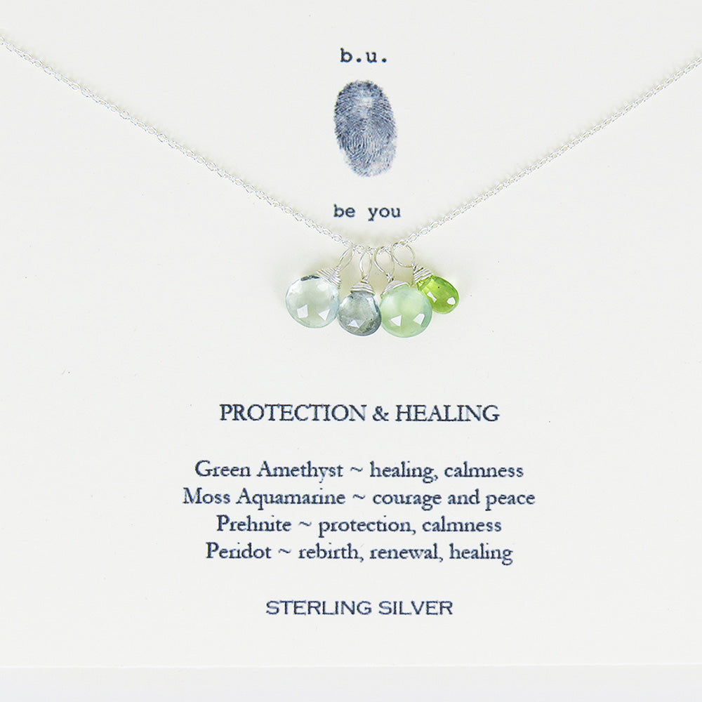 PROTECTION AND HEALING NECKALCE