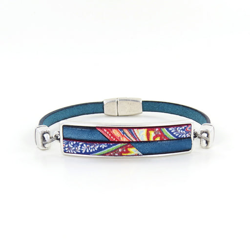 PAISLEY HORIZON LEATHER BRACELET