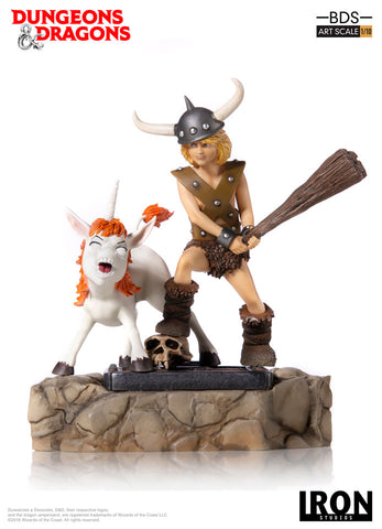 Bobby, the Barbarian and Uni BDS Art Scale 1/10 - Dungeons & Dragons - Iron Studios
