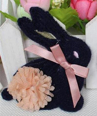 Sew On Black Bunny Patch