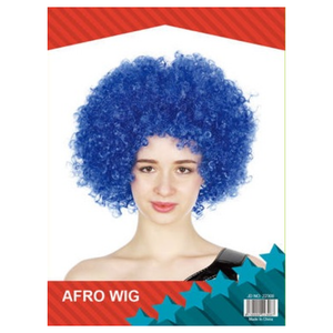 Afro Wig - Blue