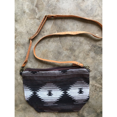 Boho Sling Bag in Navajo Coffee