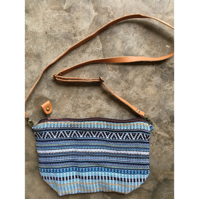 Boho Sling Bag in Navajo Blue