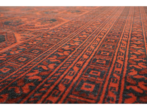 Old Afghan Nahzat Carpet - Rugs of Petworth