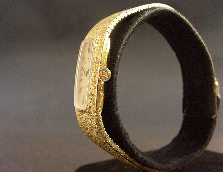 1971 OMEGA Ladies 18K Solid Gold Cocktail Watch