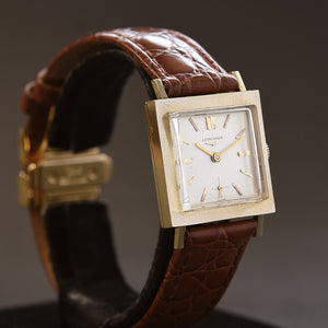 1964 LONGINES Gents 14K Solid Gold Dress Watch