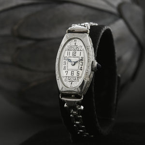 20s WINTON Ladies Art Deco 14K Gold Watch