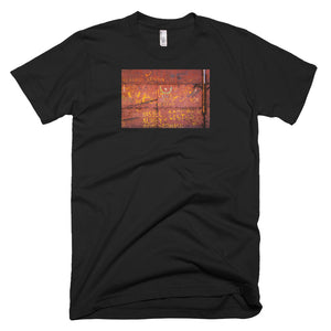 Metal door, Havana. Short-Sleeve T-Shirt