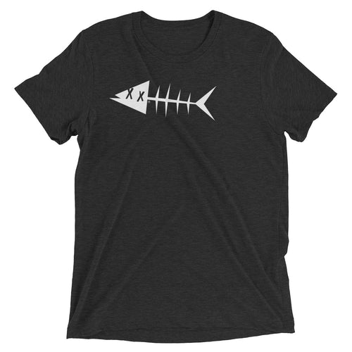 White fish. Short sleeve t-shirt