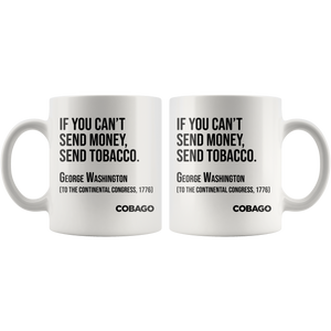 Black Mug. Cigar Quotes. MONEY