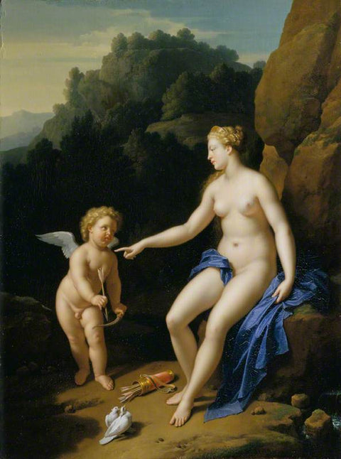 Venus and Cupid I