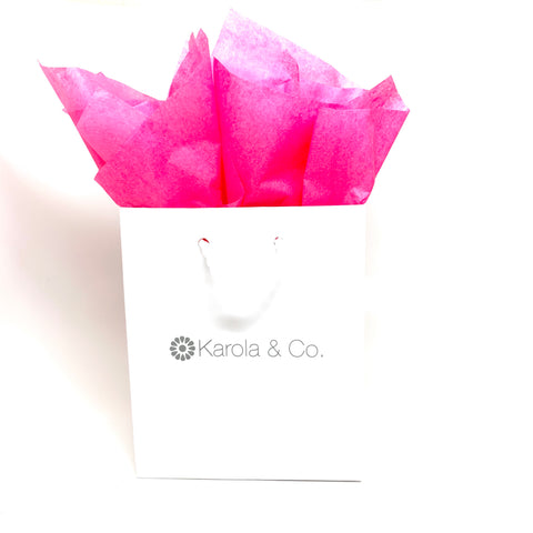 Karola & Co Gift Bag + Tissue