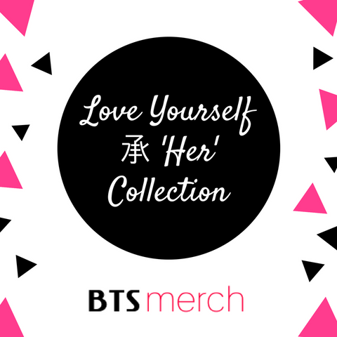 BTS Love Yourself 承 'Her' Collection