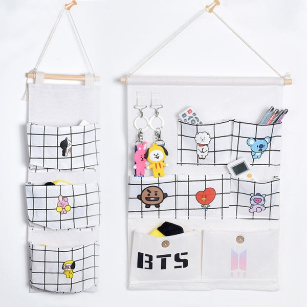 BTS x BT21 Wall Hanging Storage Bag
