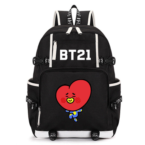 BTS OG BT21 Backpack - BTS Merch