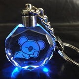 BTS X BT21 LED Crystal Keychain | Limited Edition