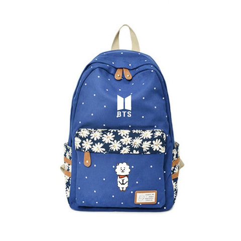 BTS x BT21 Casual School Bag