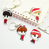 BTS Christmas Edition Keychain