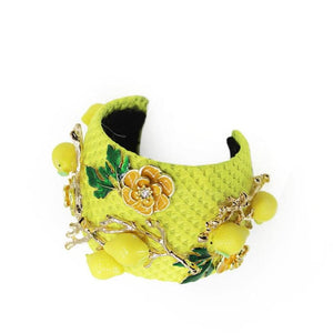 Barocco B8 - Yellow - Womens Accessories