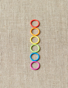 CocoKnits Colorful Ring Stitch Markers
