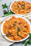Recipe: Risotto of Tomato and Basil