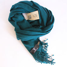 Field Green Pure Cashmere Scarf